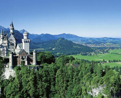 Hotel Garni Almenrausch & Edelweiß in Garmisch-Partenkirchen, Almenrausch und Edelweiss, Lage, Umgebung, Freizeit, Schloss Neuschwanstein
