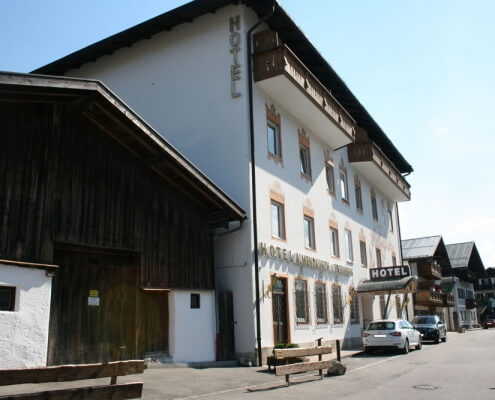 Hotel Garni Almenrausch & Edelweiß in Garmisch-Partenkirchen, Almenrausch und Edelweiss, Außenansicht