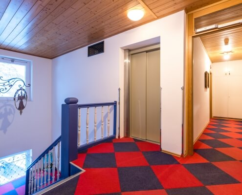 Hotel Garni Almenrausch & Edelweiß in Garmisch-Partenkirchen, Almenrausch und Edelweiss, Aufzug