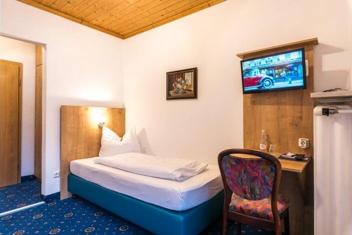 Hotel Garni Almenrausch & Edelweiß in Garmisch-Partenkirchen, Almenrausch und Edelweiss, Einzelzimmer